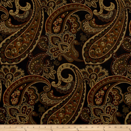 Eroica Candytuft Jacquard Storm Fabric By The Yard