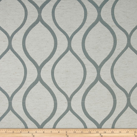 Eroica Lancaster Jacquard Sky Fabric By The Yard