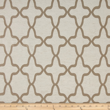 Eroica Manchester Jacquard Beige Fabric By The Yard