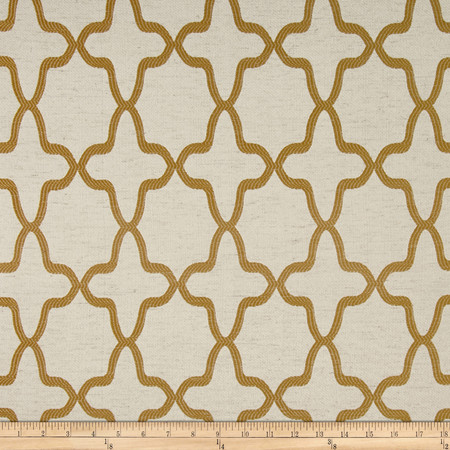 Eroica Manchester Jacquard Gold Fabric By The Yard