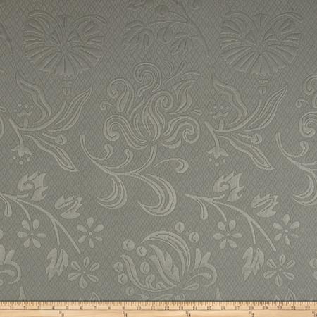Eroica Positano Floral Matelasse Slate Fabric