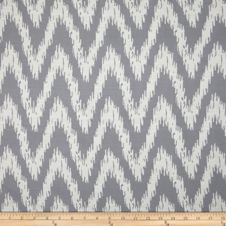 Eroica Spear Jacquard Silver Fabric