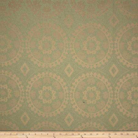 Eroica Venetian Jacquard Moss Fabric