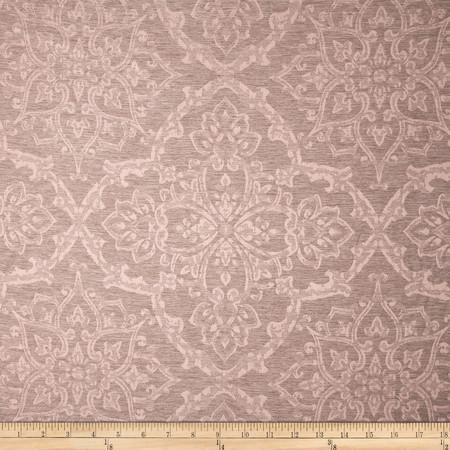 Eroica Waltz Damask Jacquard Mauve Fabric