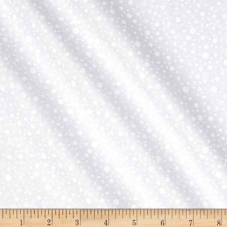 Essentials Cookie Dough Dotty Dots Sugar Fabric By The Yard