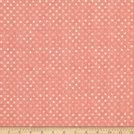 Essentials Dotsy Light Pink Fabric By The Yard