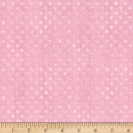 Essentials Dotsy Pink Fabric By The Yard