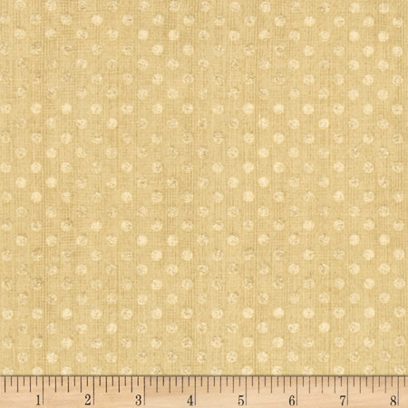 Essentials Dotsy Tan Fabric By The Yard