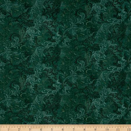 Essentials Embellishment Jade Green Fabric