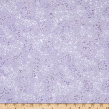 Essentials Sparkles Light Purple Fabric