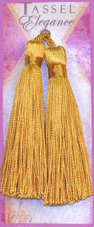 Expo 4'' Rayon Tassel 14 Karat Gold