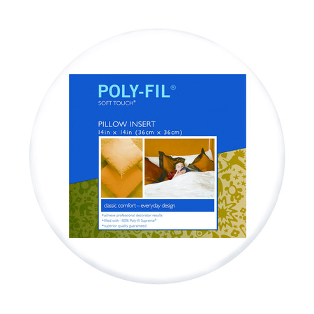 Fairfield Soft Touch Supreme Poly-Fil Pillow 14'' Round