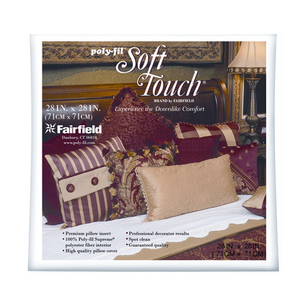 Fairfield Soft Touch Supreme Poly-Fil Pillow 28'' Square