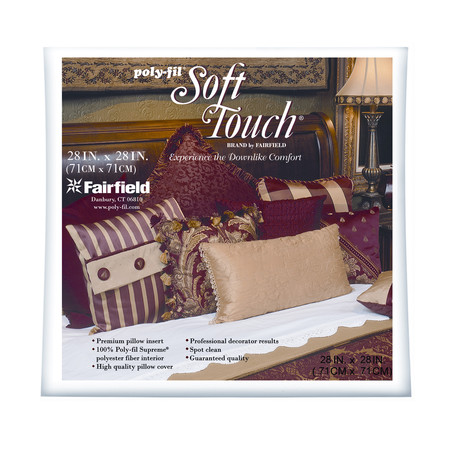 Fairfield Soft Touch Supreme Poly-Fil Pillow 30'' Square