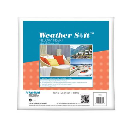 Fairfield Weather Soft Outdoor Pillow 16'' x 16''