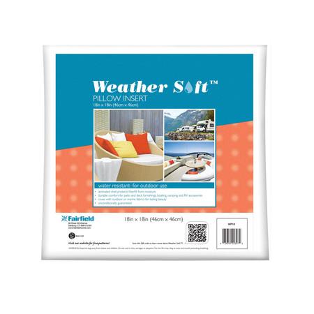 Fairfield Weather Soft Outdoor Pillow 18'' x 18''