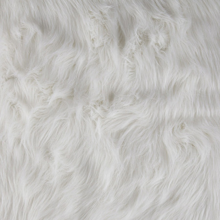 Faux Fur Arctic Fox White Fabric By The Yard