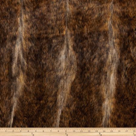 Faux Fur Canadian Fox Fur Honey Fabric By The Yard