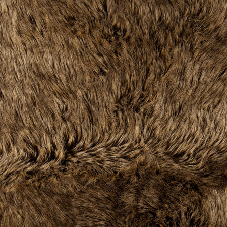 Faux Fur Desert Fox Gold Fabric By The Yard