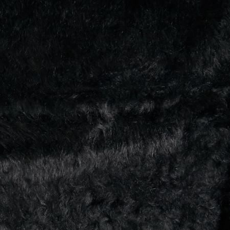 Faux Fur Monkey Black Fabric By The Yard