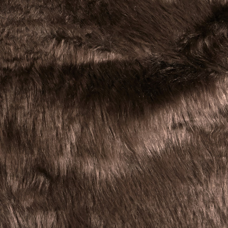Faux Fur Monkey Brown Fabric By The Yard