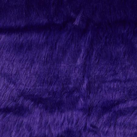 Faux Fur Monkey Purple Fabric