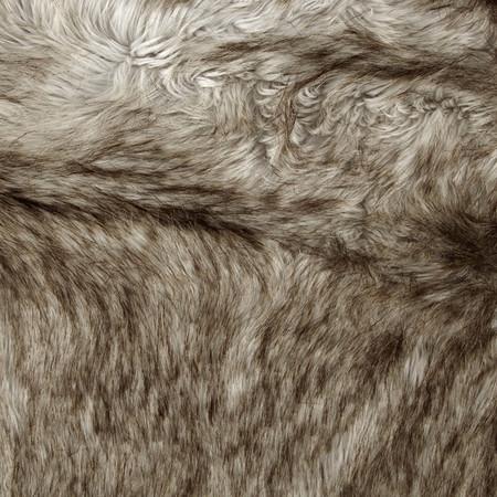 Faux Fur Siberian Fox Silver Fabric By The Yard