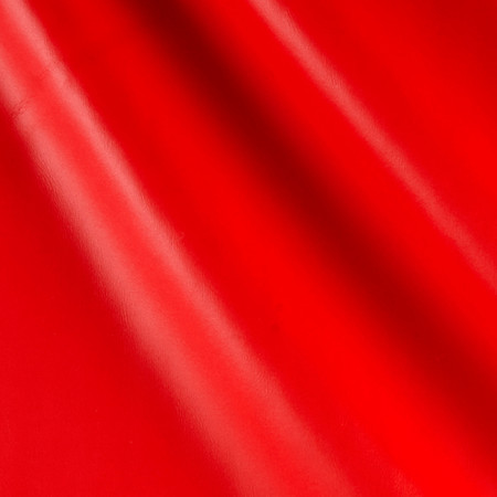 Faux Leather Calf Red Fabric By The Yard