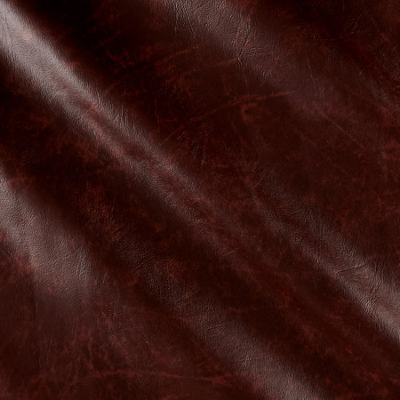 Faux Leather Rusty Brown Fabric By The Yard