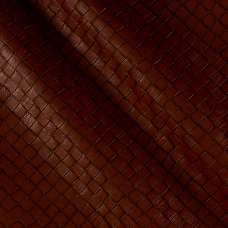 Faux Leather Tile Basketweave Buffalo Fabric By The Yard