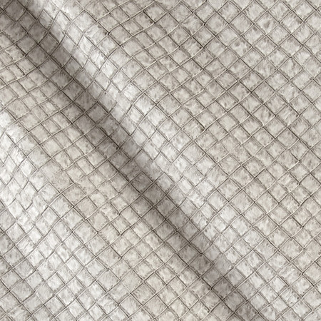 Faux Leather Tile Basketweave Stone Fabric By The Yard