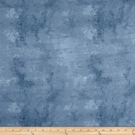 Flannel Bark Dark Denim Fabric By The Yard