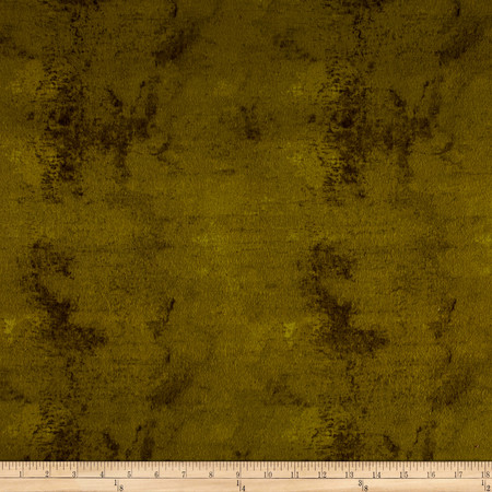 Flannel Bark Dark Olive Fabric By The Yard