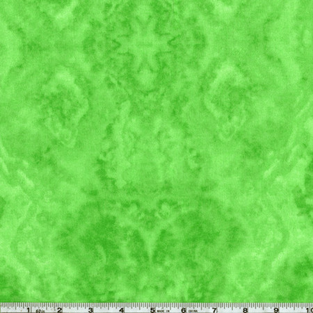 Flannel Tie Dye Lime Green Fabric By The Yard