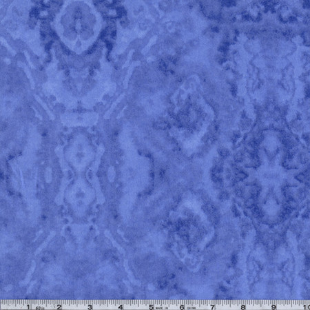 Flannel Tie Dye Periwinkle Fabric By The Yard