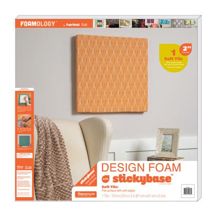 Foamology One Piece Design Foam 24'' x24'' x 2