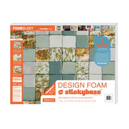 Foamology One Piece Design Foam On the Grid 24'' x 18'' x 2