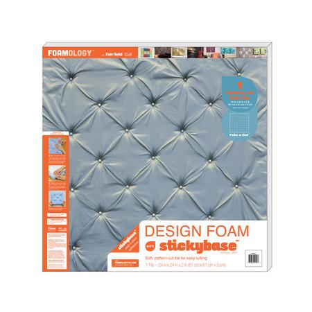 Foamology One Piece Design Foam Poke A Dot 24'' x24'' x 2