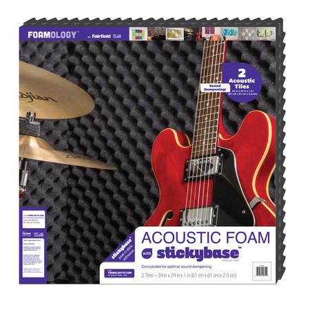 Foamology Two Piece Acoustic Foam  24'' x 24'' x 1