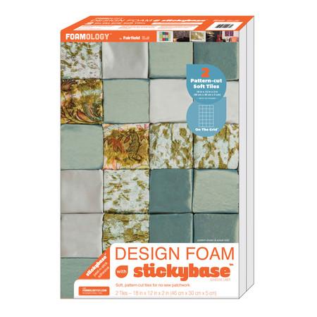 Foamology Two Piece Design Foam On the Grid 18'' x 12'' x 2