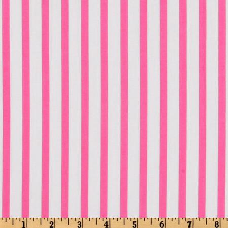Forever Stripe Fuchsia Fabric