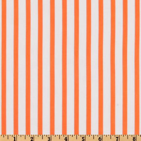 Forever Stripe Orange Fabric