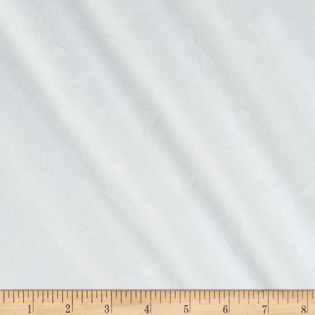 Get Back! 108'' Wide Geo White/White Fabric