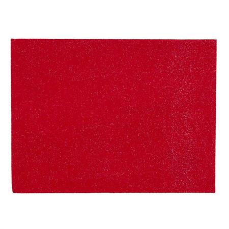 Glitter Friendly Felt 9'' x 12'' Craft Cut Red