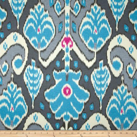 HGTV HOME Market Marvel Sateen Peacock Fabric