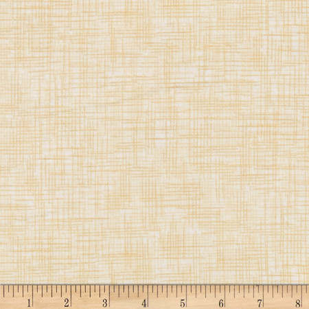 Harmony Flannel Plaid Vanilla Fabric By The Yard