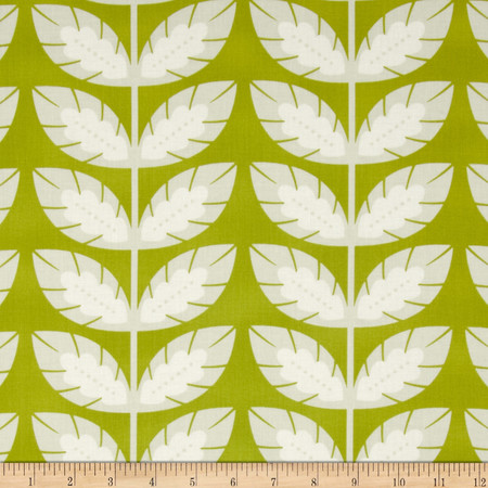 Heather Bailey Clementine Sprout Olive Fabric