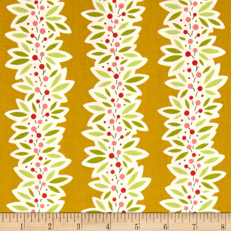 Heather Bailey Ginger Snap Garland Ginger Fabric