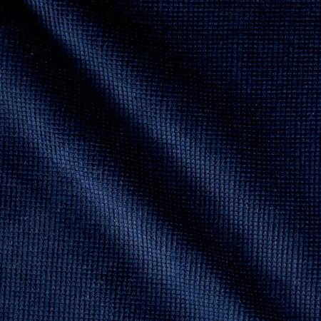 Honey Comb Corduroy Midnight Blue Fabric