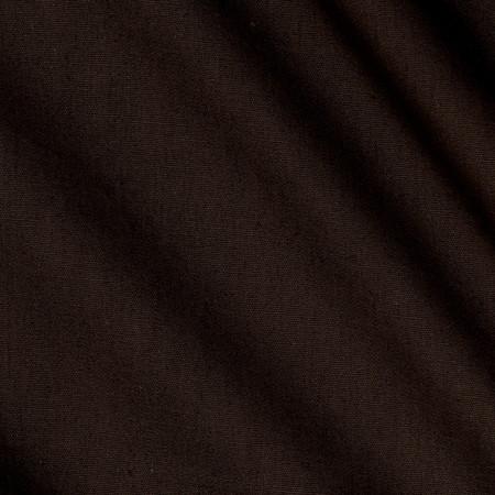 Indah Handpainted Solid Raw Umber Fabric
